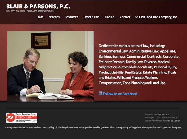 Blair & Parsons. P.C.