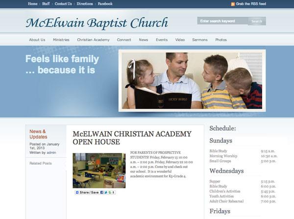 McElwain Baptist Church